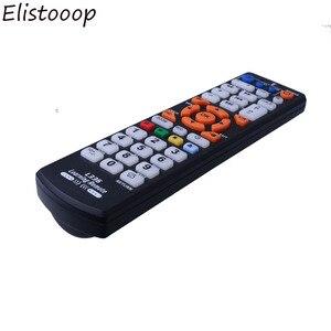 Image 3 - Elistooop evrensel uzaktan kumanda profesyonel uzaktan kumanda öğrenme fonksiyonu ile destekler TV SAT DVD akıllı kontrol Part2018