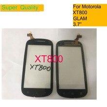 """Сенсорный экран для Motorola Moto XT800 GLAM сенсорный экран дигитайзер Передняя стеклянная панель сенсорная 3,"""" Замена"""