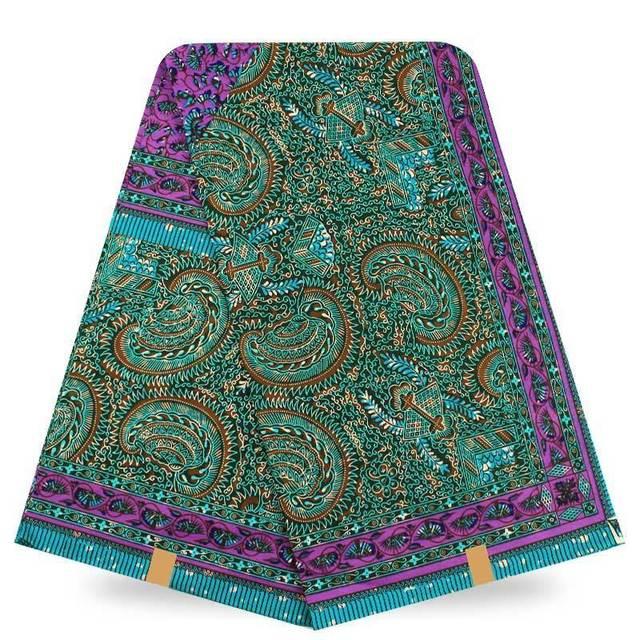 Custom Fabric Printing Wholesale And Retail African Print Fabric 6 Yards  Hojilou Wholesale And Retail African Hollandis Fabrics-in Fabric from Home  &