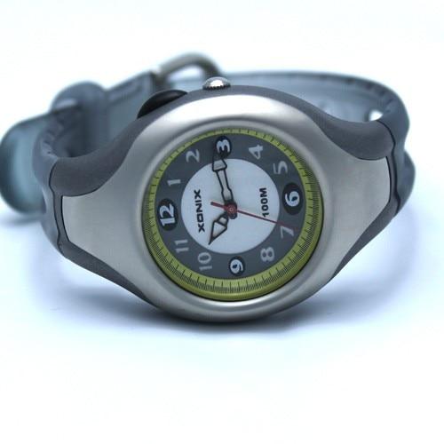 Mulheres esportes relógios quartzo analógico à prova