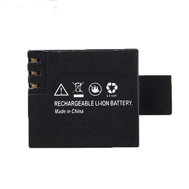 2Pcs 3.7V 900mAh Rechargable Li-ion Battery For SJ4000 WiFi SJ5000 WiFi M10 SJ5000x Elite Goldfox Action Camera 2