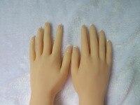 Pelle reale bambole del sesso masturbazione giapponese silicone pieno a grandezza naturale a mano falso fetish giocattolo sexy toys modello piede