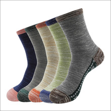 2015 Fashion Autumn Winter Men's Cotton Socks for Men Casual Socks High Quality Jacquard Men Socks Size 39-43  5 pairs/lot