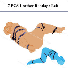 Leather Bondage Slave Bdsm Sex Bondage Fetish Hand Bondage BDSM Adult Sex Toys For Couple
