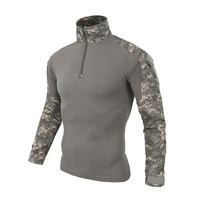 Hot Camouflage Military Tactical T Shirt For Men Quick Dry Breathable Men Tshirt Fashion Spring Autumn