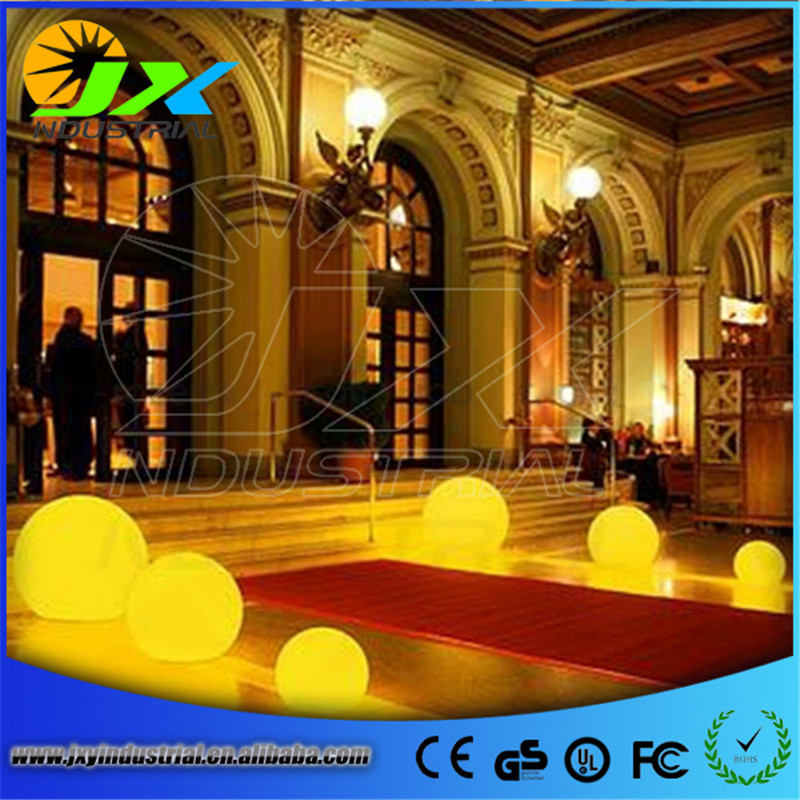 ФОТО D25CM 24Key Remote Control 16 Color-Changing LED Light Ball Rechargeable Outdoor Swimming Pool Floating Spheres Colourful Lights