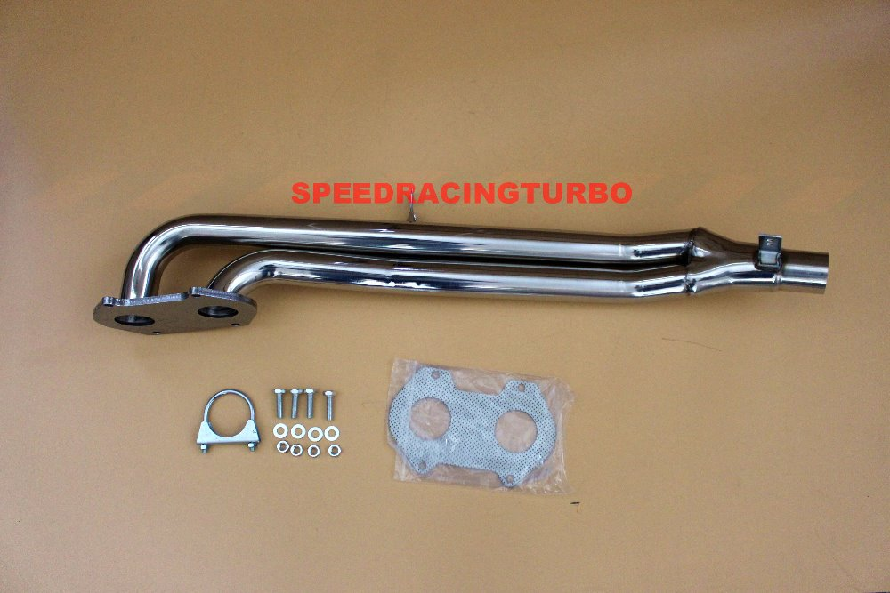 Exhaust Header Fits Mazda RX-7 79-85 1.1L  Stainless Steel Exhaust Manifold