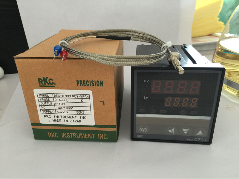 Digital PID Temperature Controller REX-C700 Thermocouple Input SSR//RELAY Output