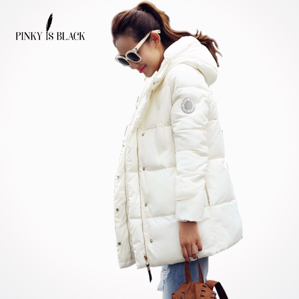 mujer chaqueta negra invierno femenina Is Wadded Pinky de chaqueta XxwSPRHnq4