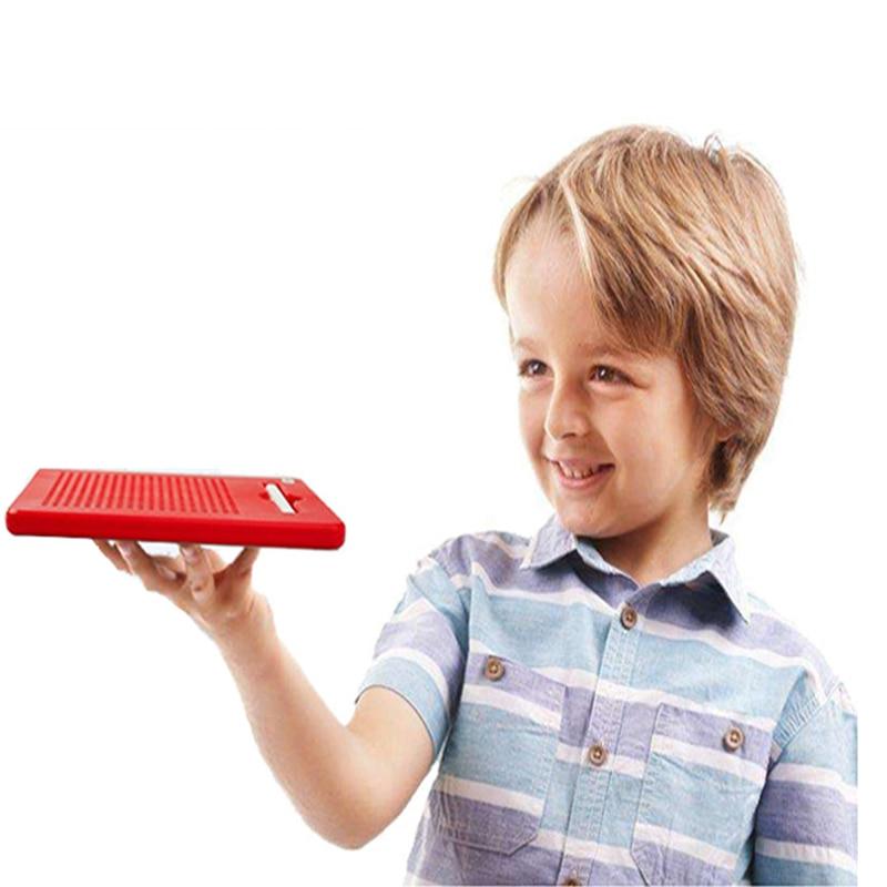 Planche à dessin pour enfants avec stylo à bille en acier en plastique tablette magnétique aimant Pad créatif éducatif Puzzle infantile