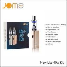 JomoTech Запатентованных Электронных Сигарет Lite 40 Вт Vape Мод Subohm Комплект 2200 мАч Ecig Окно Мод 6 Язык Руководство Lite 40 Вт От россия