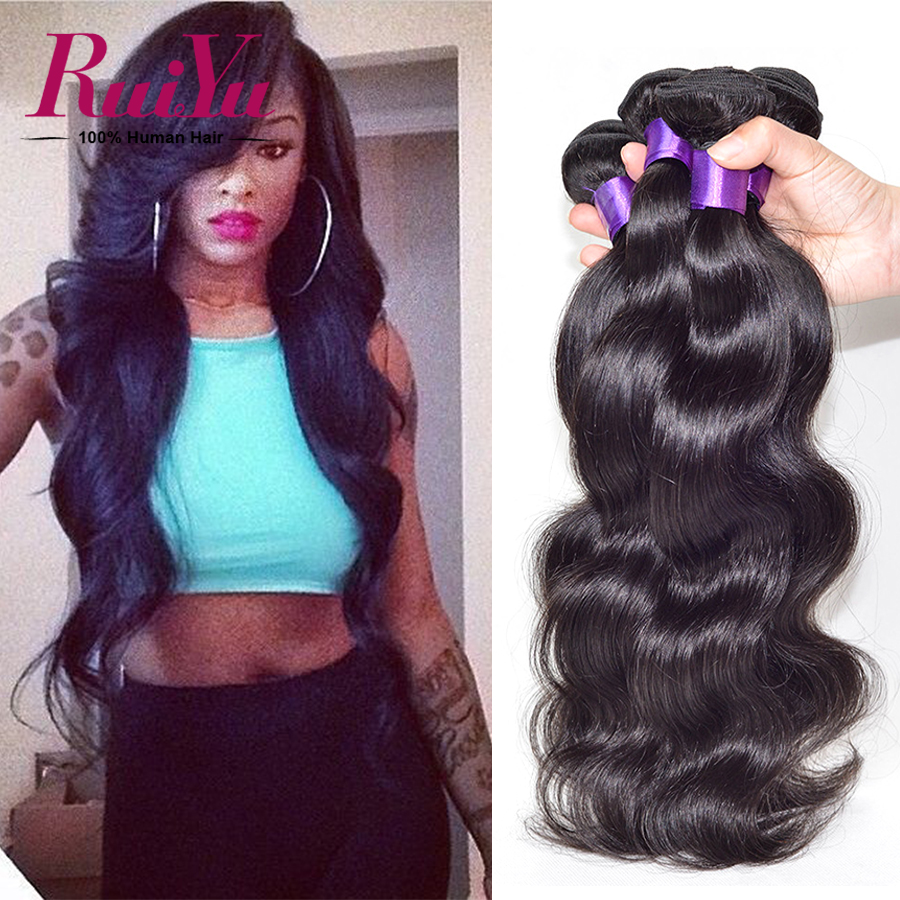 Grade 7A Mink Brazilian Virgin Hair Body Wave 4 Bundles Brazilian Body Wave Brazilian Hair Weave Bundles Human Hair Body Wave