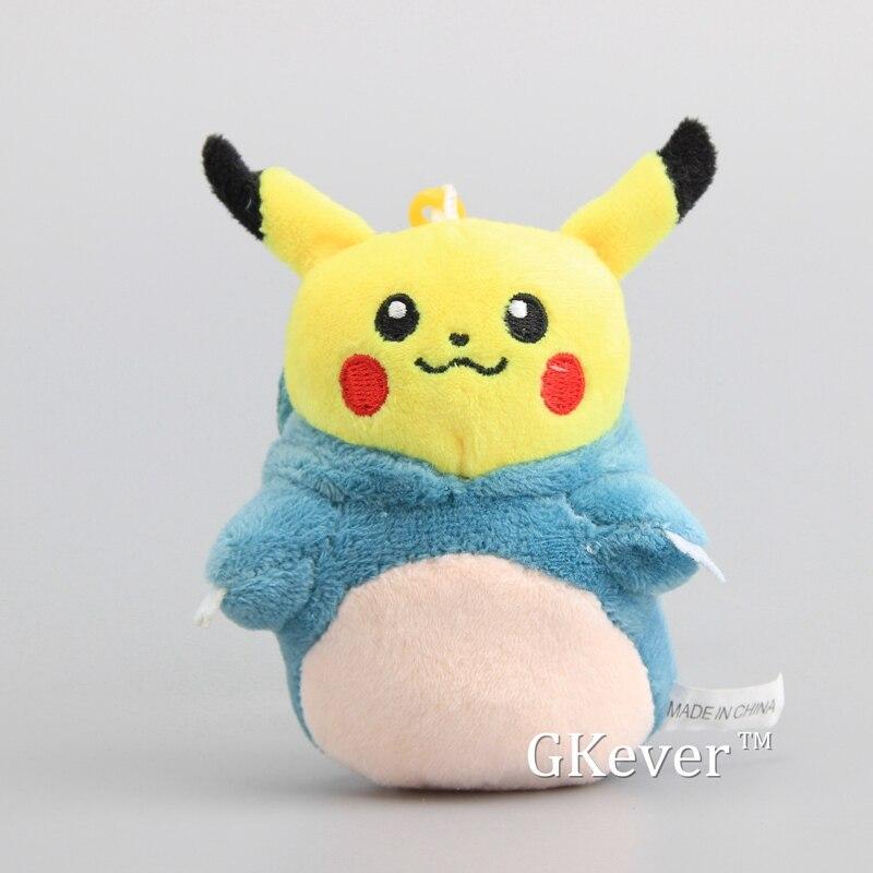 Pikachu Plüschtier Keychain Schlüsselanhänger 11cm Uhren & Schmuck
