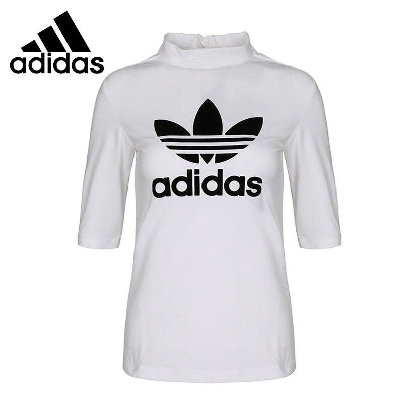 Original New Arrival 2018 Adidas Originals CLRDO TSHIRT Women's T-shirts short sleeve Sportswear original new arrival 2018 adidas neo label fav tshirt men s t shirts short sleeve sportswear
