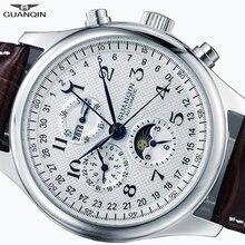 GUANQIN Relogio Masculino Automatic Mechanical Men Watches W