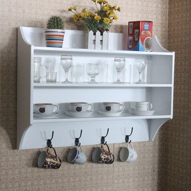 Bois corniche cuisine armoires de rangement placard for Rangement pivotant cuisine