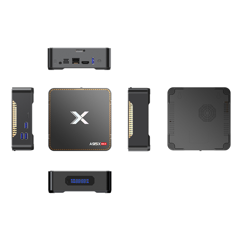 A95X MAX Amlogic S905X2 4G+64G Andriod 8.1 TV-BOX HDMI 2.0 Bluetooth 4.2 Built-in stereo audio DAC Power adapterStandardA95X MAX Amlogic S905X2 4G+64G Andriod 8.1 TV-BOX HDMI 2.0 Bluetooth 4.2 Built-in stereo audio DAC Power adapterStandard