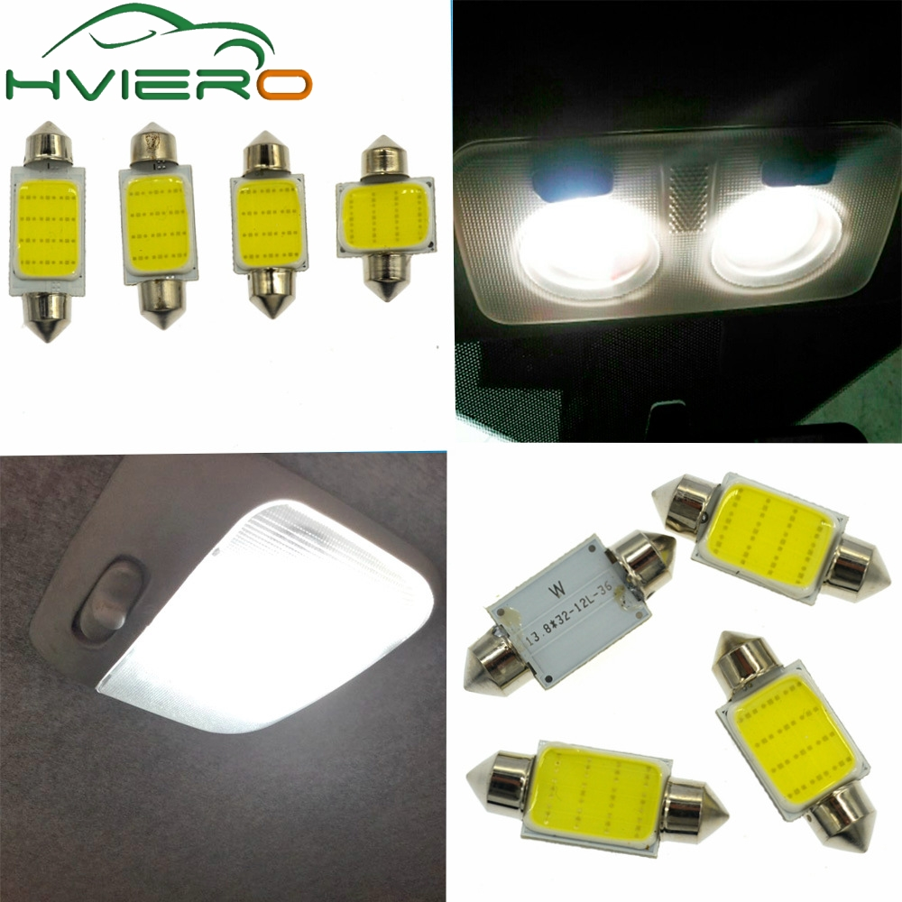 2Pcs 12SMD White Cob Festoon Dome Lights Reading Lamp 31mm 36mm 39mm 42mm 3w Car Led Interior Lights Bulbs Interior DC 12v cn360 2pcs extremely bright canbus error free 31mm 36mm 39mm 41mm festoon dome c5w car led light bulb