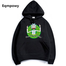 2017 autumn hot anime sweatshirt men blood youth Cool Rick Morty Fashion brand clothing hip hop fitness men's hoodies funny
