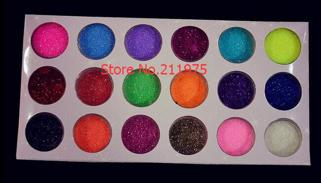 2018 12 Colours Nail Acrylic Paerl Powder Dust Pigment Powder Nail Art Decoration R Wholesale Big Discount Drop Ship Nails Art & Tools