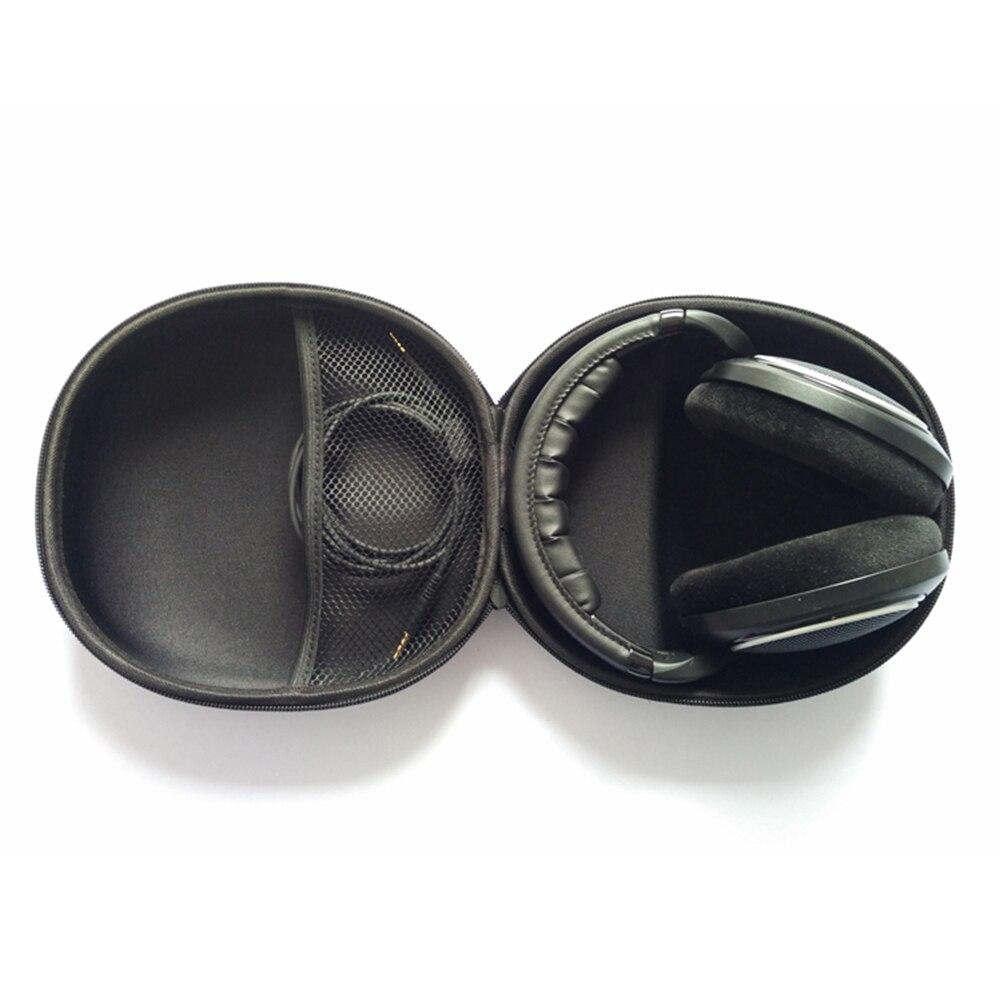 cheapest Case For Sennheiser Headphone Hard Case Bag for Sennheiser HD598 HD569 HD559 HD599 HD518 HD558 Headphones Earphone Accessories
