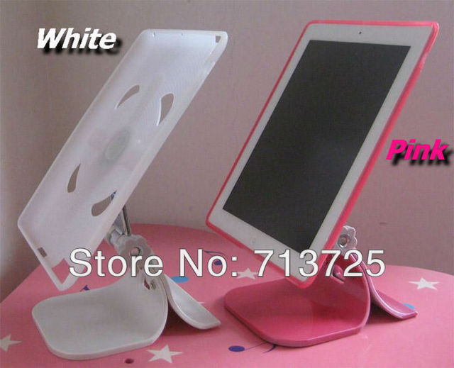 For Ipad 2 for Ipad 3, 4 patented 2 in 1 stand bracket + TPU protective case, tablet pc holder + protective case freeshipping