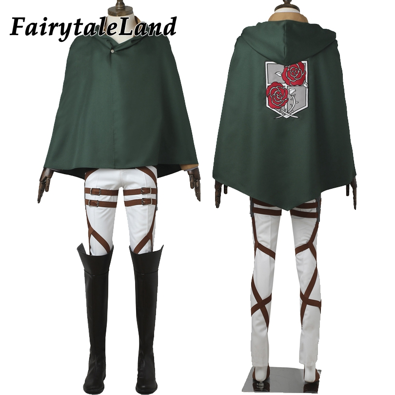 Attack on Titan Dot Pixis Cosplay Costume Halloween costumes for men Hot Anime cosplay Stationed Corps Commander costume