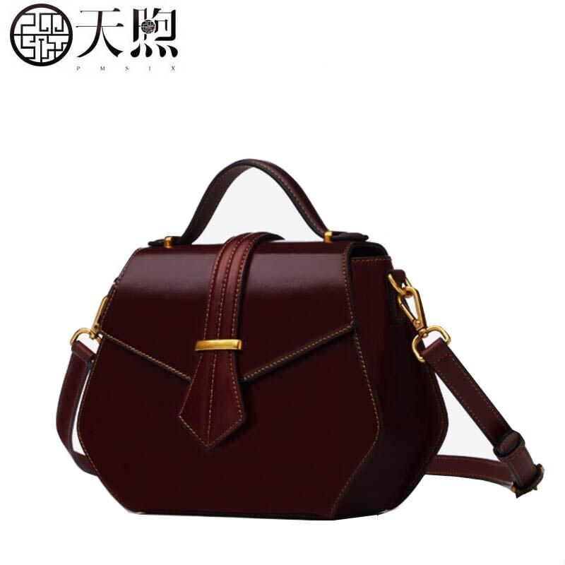 2017 New fashion luxury handbags women bags designer Retro simple women Leather bag tote handbags shoulder Bags