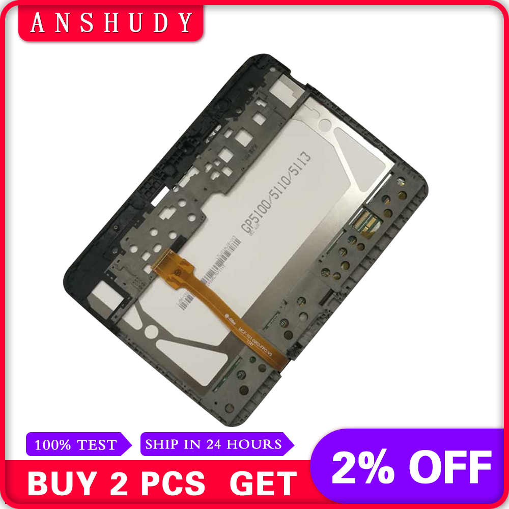 For Samsung Galaxy Tab 3 P5200 P5210 Full LCD Display Panel Monitor + Touch Screen Digitizer Sensor Assembly + FrameFor Samsung Galaxy Tab 3 P5200 P5210 Full LCD Display Panel Monitor + Touch Screen Digitizer Sensor Assembly + Frame