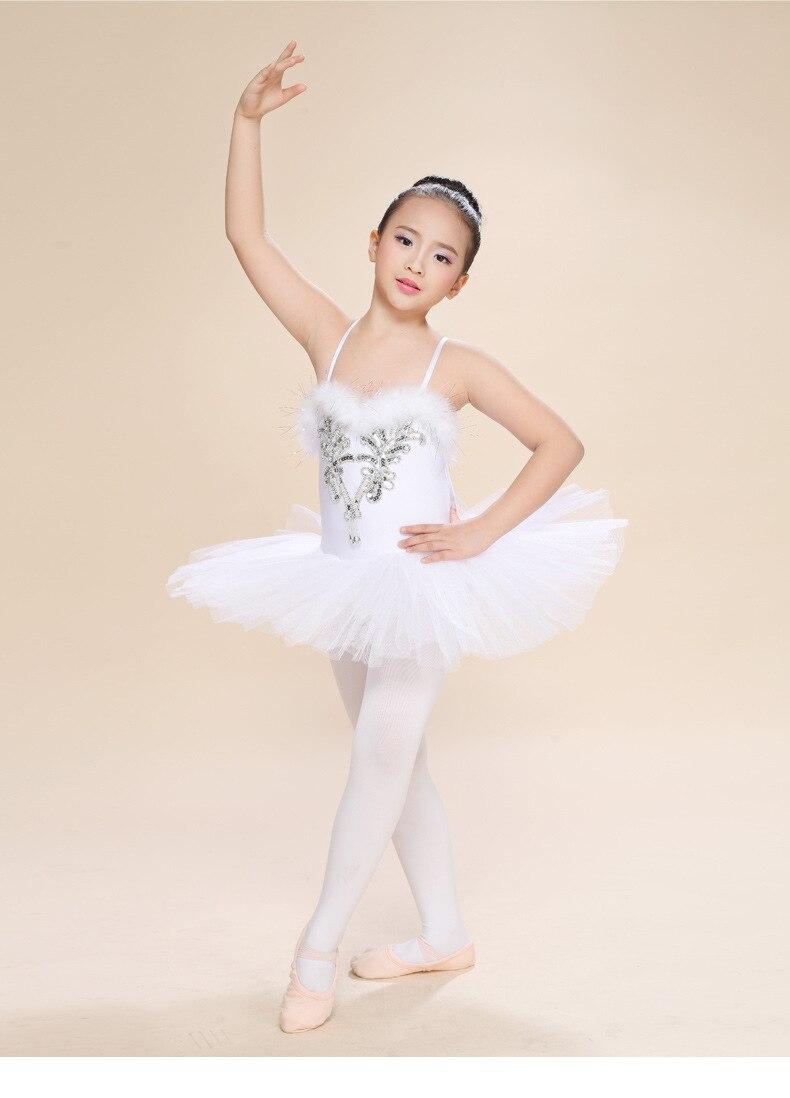 8aea01dc9 2015 niños elegante clásico blanco Cisne lago baile Ballet tutú Traje de  Ballet envío gratis