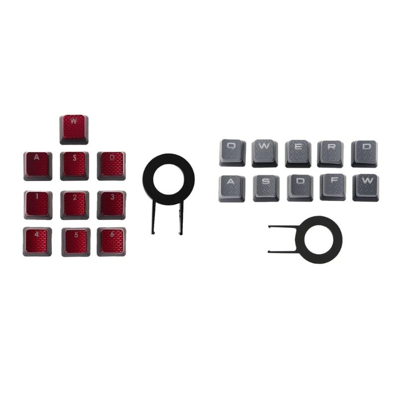 10Pcs/Pack Keycaps For Corsair K70 K65 K95 G710 RGB STRAFE Mechanical  Keyboard July4