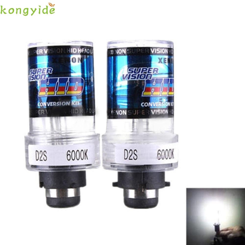 2x D2S 35W Xenon HID Replacement Bulbs BMW 7 Series E38 E65 2002-2004 8000K