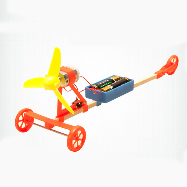 Kids Creative Wind Powered Car