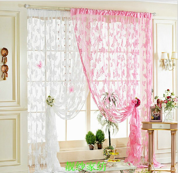 Buy Hot Sale Butterfly String Thread Blind Curtain Cortina