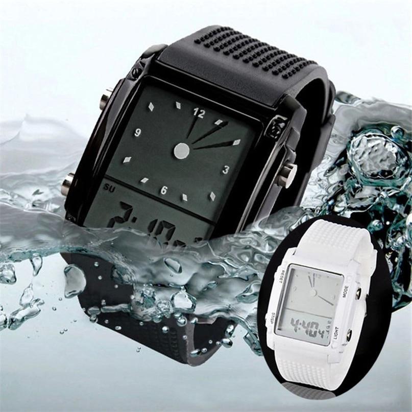 Mens Watches Top Brand Luxury Led Digital Watch Women Chronograph Quartz Watch Outdoor Sports Watches Wristwatches
