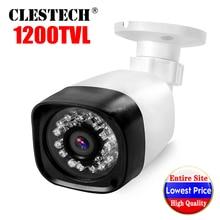 6.28BigSale Real 1200TVL Cmos CCTV HD Camera IRCUT 24led 30m Night Vision Video Waterproof IP66 monitoring security mini vidicon