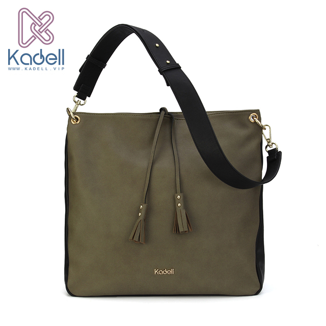 d2e27e77f656 US $82.5 |Kadell Crossbody Bag for Traveling Men Business Shoulder Bag  Leather Messenger Bags Simple Style Women Wide Shoulder Strap Bags on ...