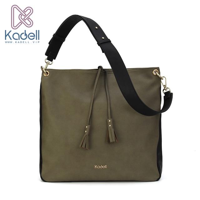Kadell сумка для путешествий Для мужчин Бизнес сумка кожаная Курьерские сумки простой Стиль Для женщин широкий плечевой ремень Сумки