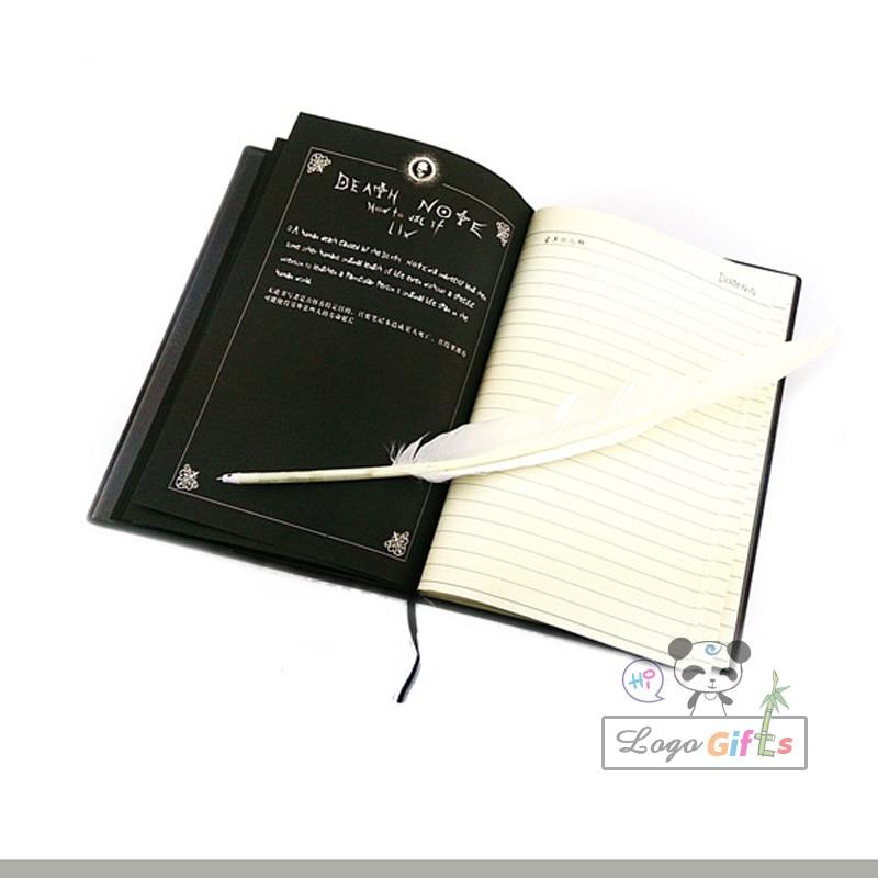 Atacado Death planner livro Cosplay Notebook material escolar Jornal de Escrita 2017 melhor presente para o aniversário