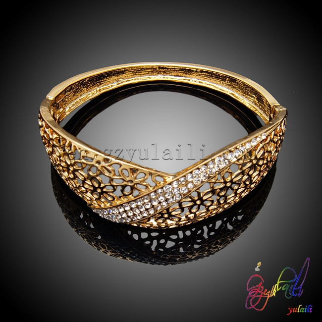 Wedding bridal fashion 18k gold plated jewelry chain fashion