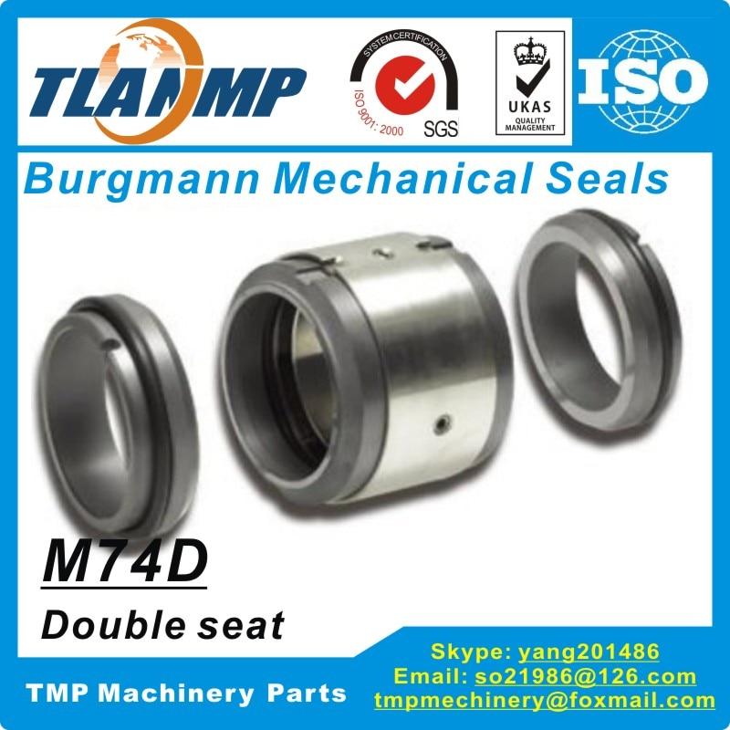 M74D-60 M74D/60-G9 Burgmann joints mécaniques (matériau: SiC/SiC/Viton)   M74-D Double joint (Double Face) type d'immobilisation pour pompes