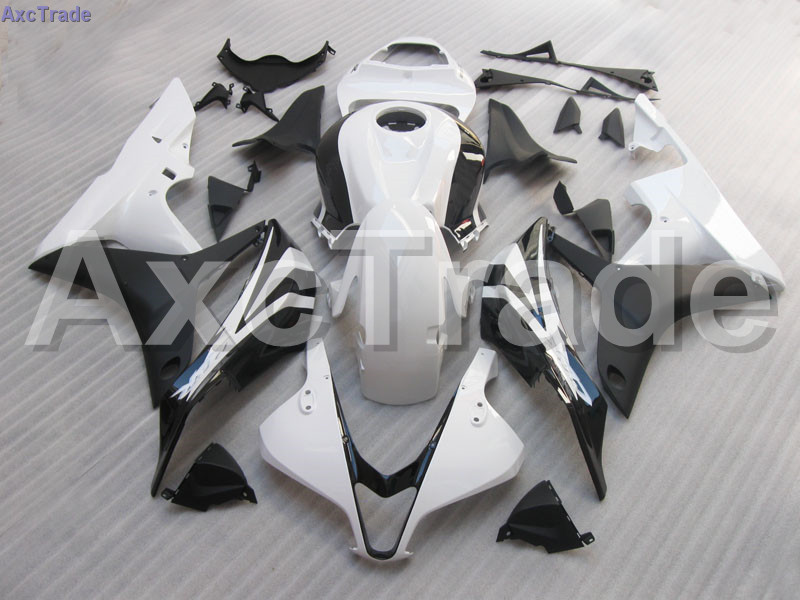 Bodywork Moto Fairings FIT For Honda CBR600RR CBR600 CBR 600 RR 2007 2008 F5 Fairing kit High Quality ABS Plastic White C102 abs injection fairings kit for honda 600 rr f5 fairing set 07 08 cbr600rr cbr 600rr 2007 2008 castrol motorcycle bodywork part