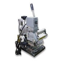 Alta qualidade cartão de pvc folha quente máquina de carimbo da imprensa de gilding
