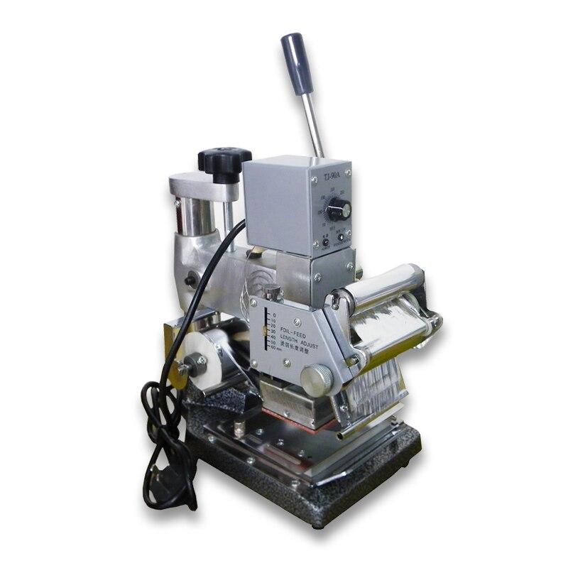 High quality PVC card hot foil stamping machine Gilding Press Machine gilding press bronzing hot foil stamping machine