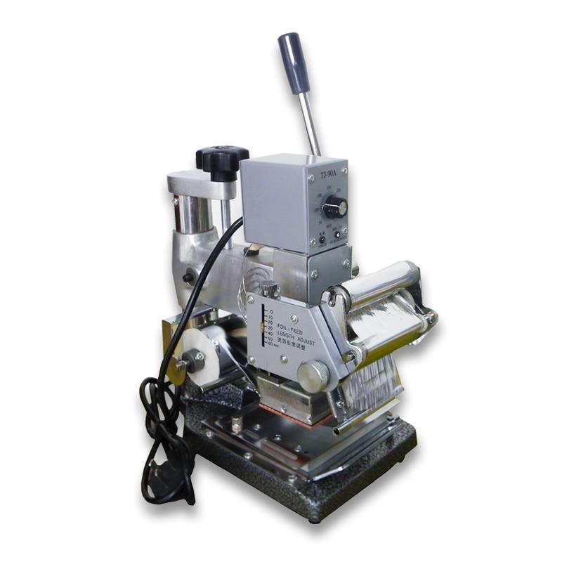 High quality PVC card hot foil stamping machine Gilding Press Machine