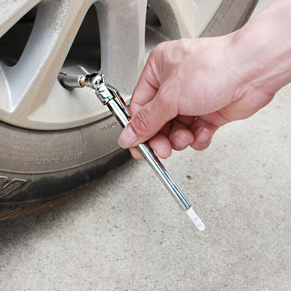 New Portable Mini Durable Car Styling 5-50 PSI Pressure Gauge Pen Shape Emergency Use  Tire/Tyre Air Pressure Test Meter