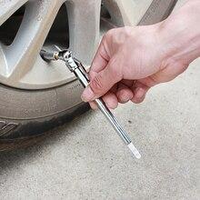 Neue Tragbare Mini Durable Car Styling 5 50 PSI Manometer Stift Form Notfall Verwenden Reifen/Reifen luft druck Test Meter