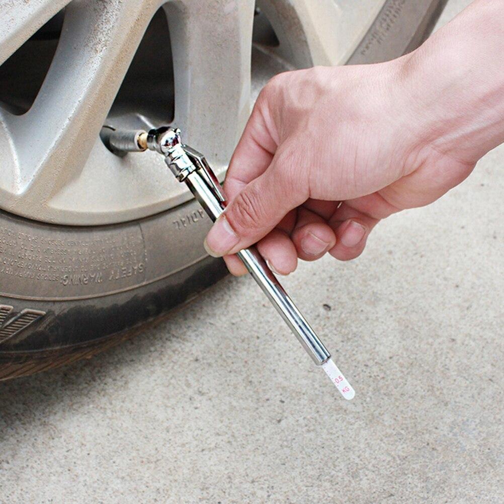 New Portable Mini Durable Car Styling 5-50 PSI Pressure Gauge Pen Shape Emergency Use  Tire/Tyre Air Pressure Test Meter