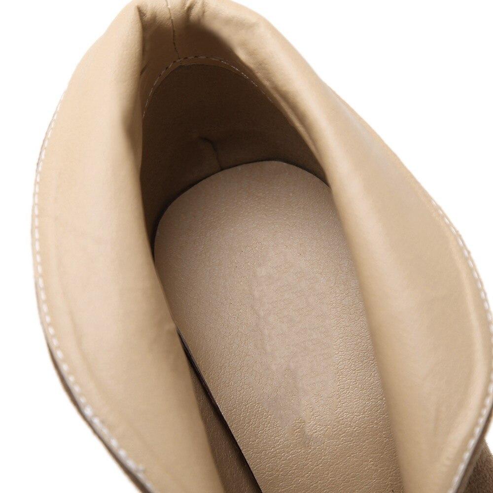 Lady D'été Taille Robe Printemps 11 Slip Classique Cm Troupeau ty02 Mode 36 38 Ty01 Marque Sexy Bottes Femme Cheville Peep sur Noir Talons Toe Mince EqAZHZxw