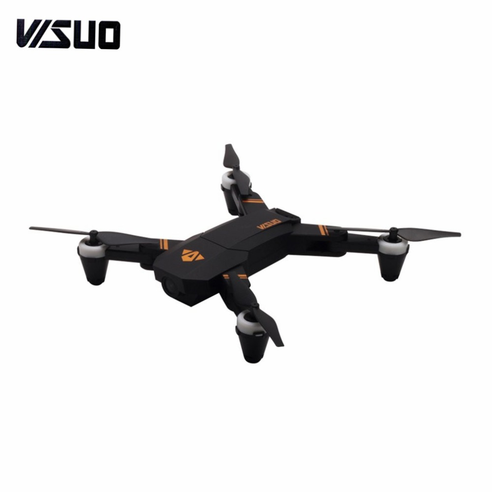 VISUO XS809 2.4G Mini Foldable FPV Selfie Drone RC Quadcopter with 720P Wide Angle Camera Altitude Hold Headless Mode fzVISUO XS809 2.4G Mini Foldable FPV Selfie Drone RC Quadcopter with 720P Wide Angle Camera Altitude Hold Headless Mode fz